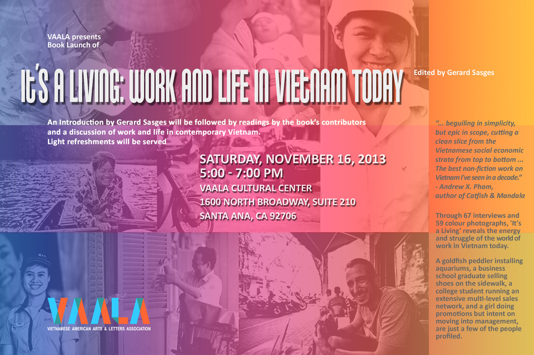 It's a Living: Work and Life in Vietnam Today Book Launch